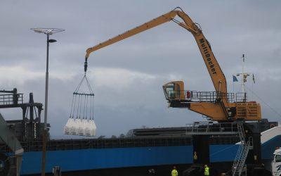 2017-11-01 Ny Multidocker till Landskrona Hamn